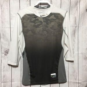 Nike Pro Dri-Fit Baseball Mens M Fitted Shirt